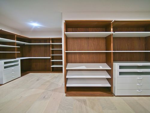 Closet-in-Model A - Three Story-at-Canarias at Downtown Doral-in-Miami