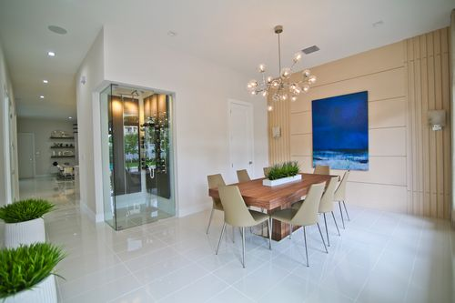 Dining-in-Model B - Three Story-at-Canarias at Downtown Doral-in-Miami