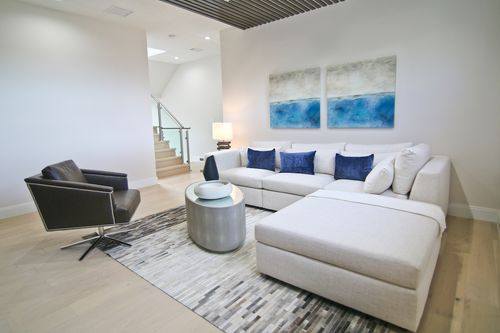 Greatroom-in-Model B - Three Story-at-Canarias at Downtown Doral-in-Miami