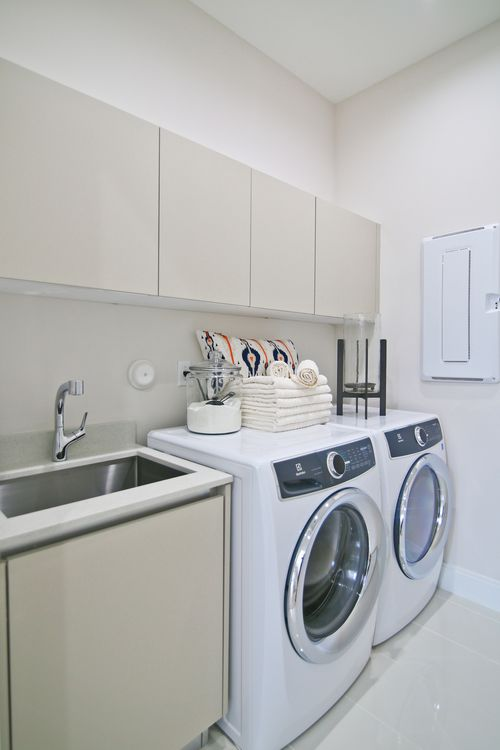 Laundry-in-Model B - Three Story-at-Canarias at Downtown Doral-in-Miami