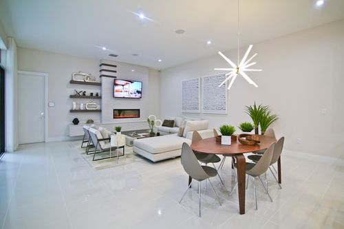 Recreation-Room-in-Model C - Two Story-at-Canarias at Downtown Doral-in-Miami