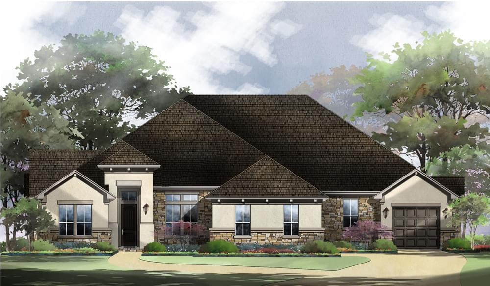 Exterior featured in the Vermentino : 90-4055SF.1 By Monticello Homes in Austin, TX
