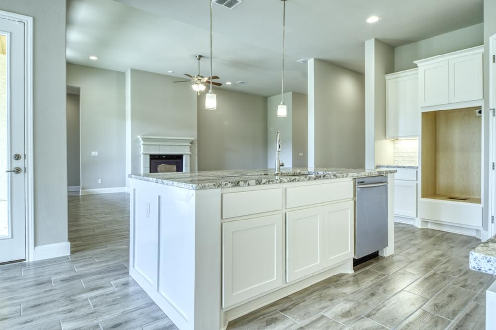 Kitchen featured in the Hunter : 60-Z-2825F.1 By Monticello Homes in San Antonio, TX