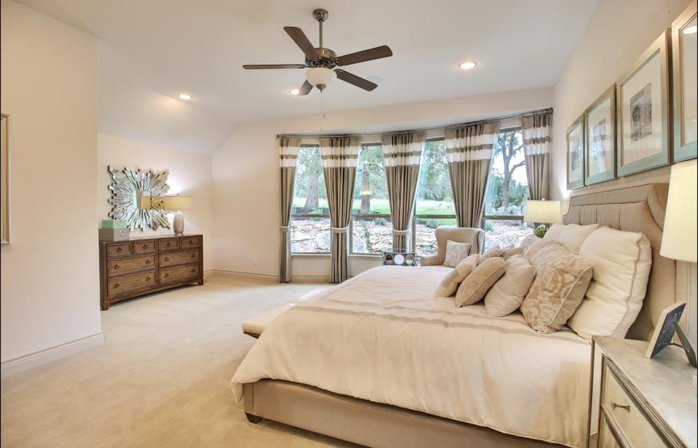 Bedroom featured in the Franklin : 60-2875F.1 By Monticello Homes in San Antonio, TX