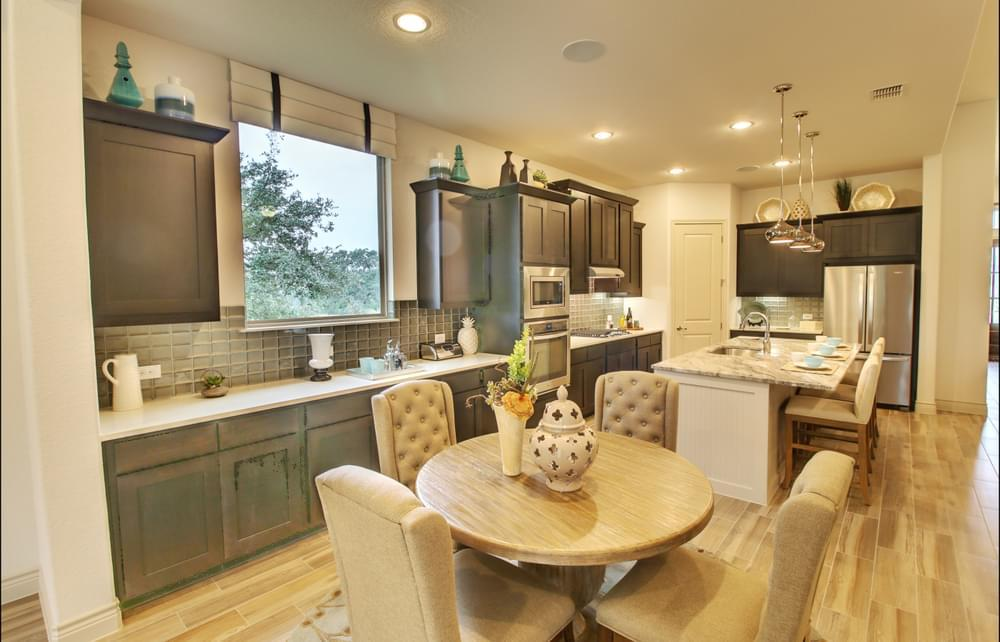 Kitchen featured in the Franklin : 60-2875F.1 By Monticello Homes in San Antonio, TX