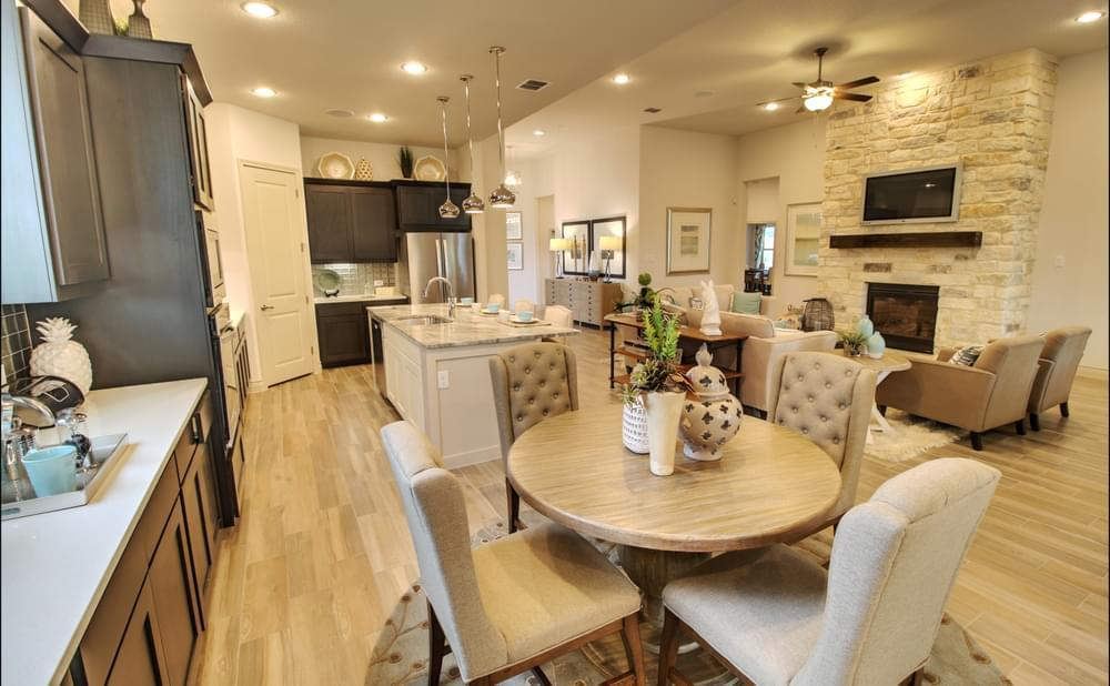 Living Area featured in the Franklin : 60-2875F.1 By Monticello Homes in San Antonio, TX