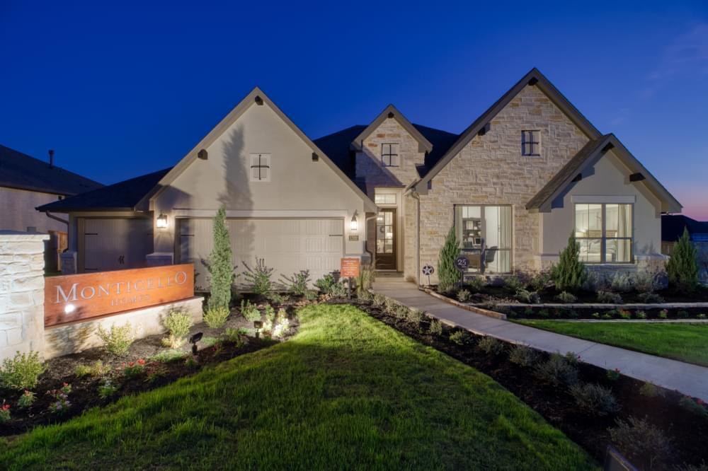 'The Village at Hastings Ridge at Kinder Ranch' by Monticello Homes - San Antonio in San Antonio