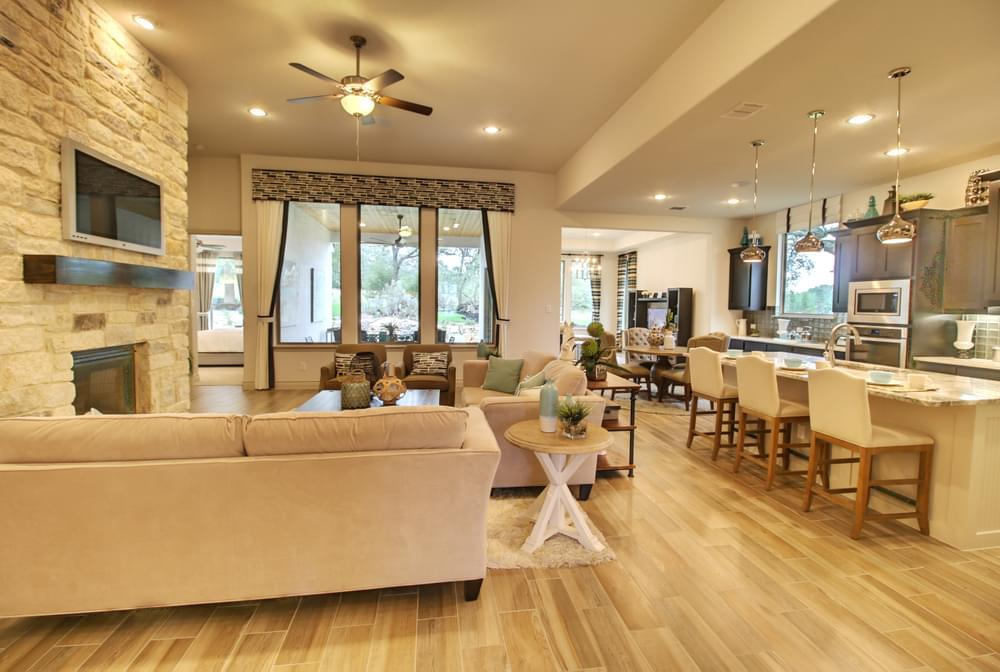 'The Grove at Vintage Oaks' by Monticello Homes - New Braunfels in San Antonio