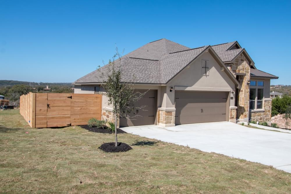 Exterior featured in the Adams : 50-2127F.1 By Monticello Homes in San Antonio, TX