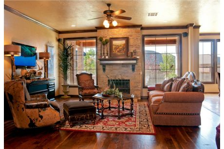 Greatroom-in-The Augusta: Majors Series-at-HallBrooke Addition-in-Norman