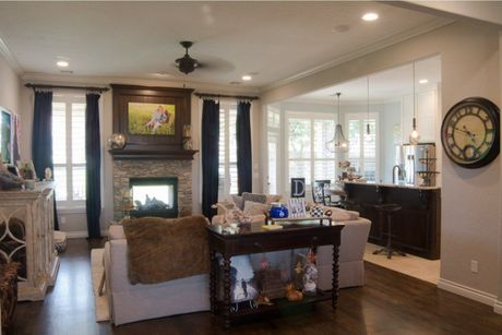 Greatroom-in-The Torrey Pines: Tour Series-at-Highland Village-in-Norman