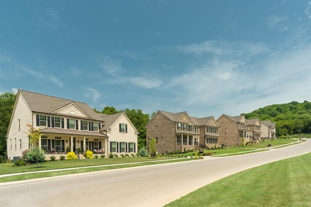 Spacious Living:Clovercroft Preserve's spacious homesites and tall trees give you a tranquil setting for your new home