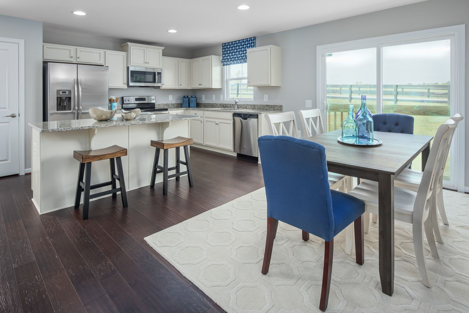 ... Spacious Kitchens:The Living Room, Dining And Kitchen All Share One  Big, Happy