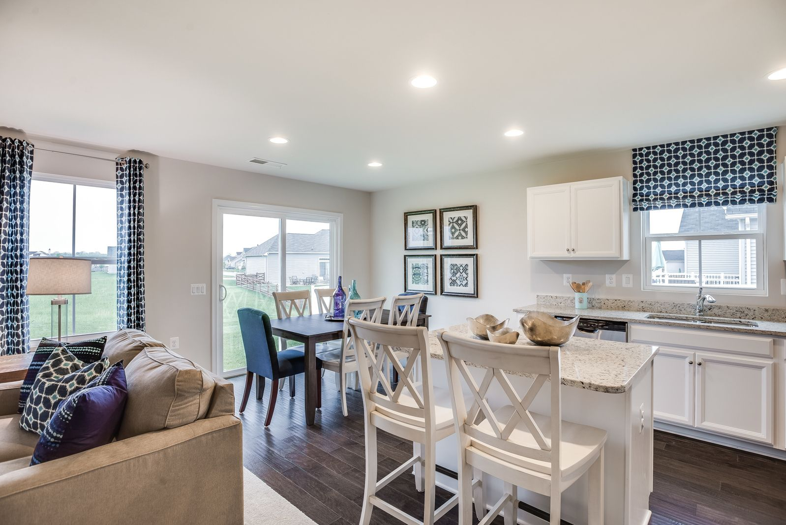 Living Area featured in the Bahama By Ryan Homes in Canton-Massillon, OH