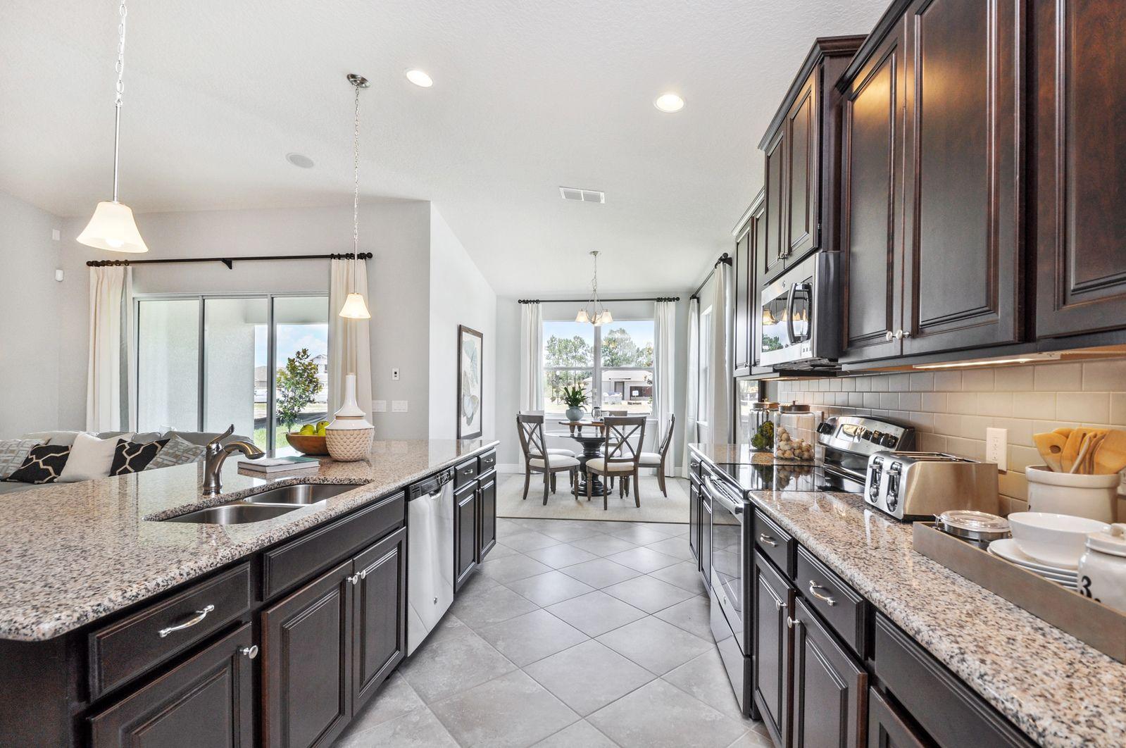 Kitchen-in-Biscayne Bay-at-Serenoa-in-Clermont