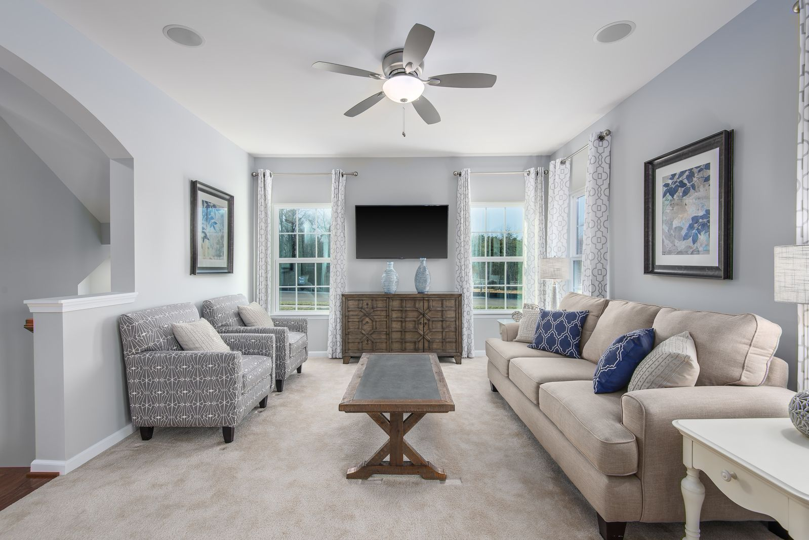 Living Area featured in the Ernest Hemingway By Ryan Homes in Norfolk-Newport News, VA