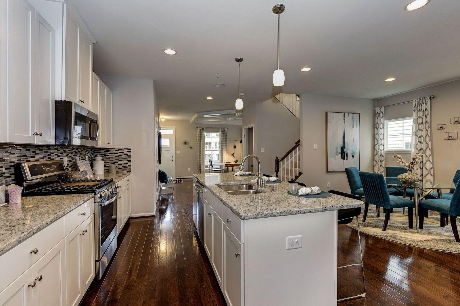 Kitchen featured in the Alcott By Ryan Homes in Norfolk-Newport News, VA