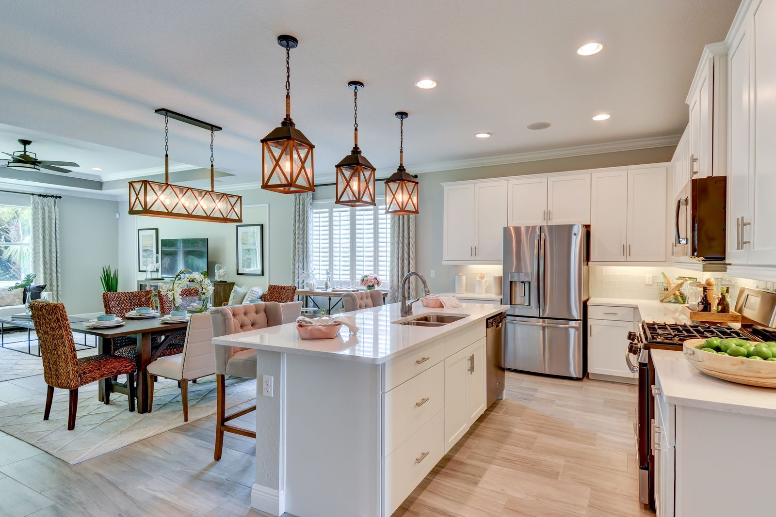 Kitchen-in-Poinciana-at-The Willows-in-Vero Beach