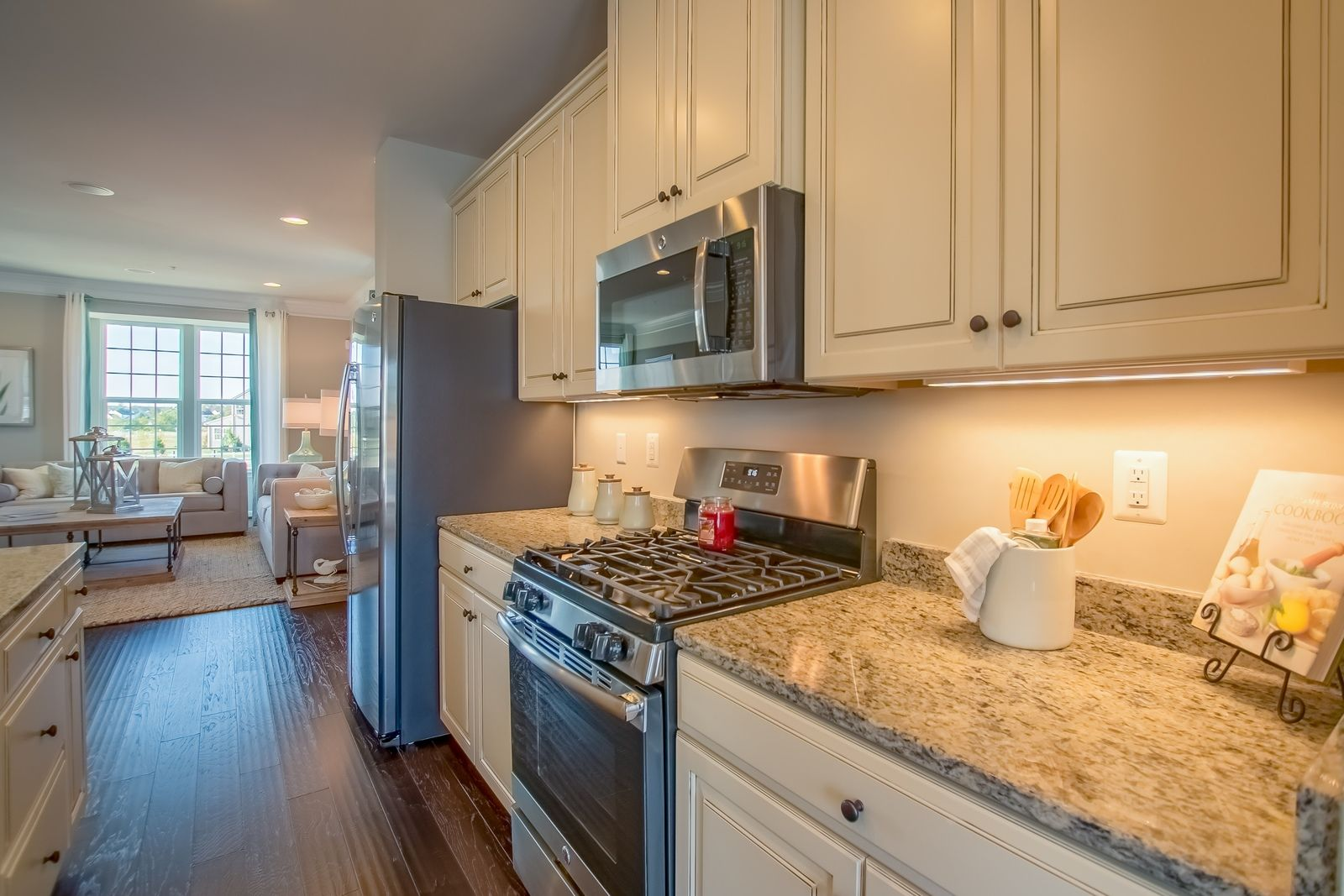 Kitchen-in-Strauss Roof Top Terrace-at-Potomac Shores Towns-in-Dumfries