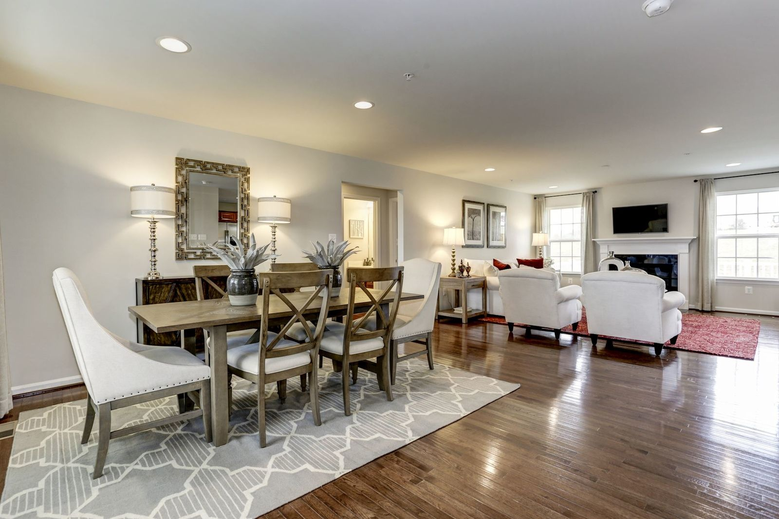 Greatroom-and-Dining-in-Aviano-at-Alloway Meadows-in-North Canton