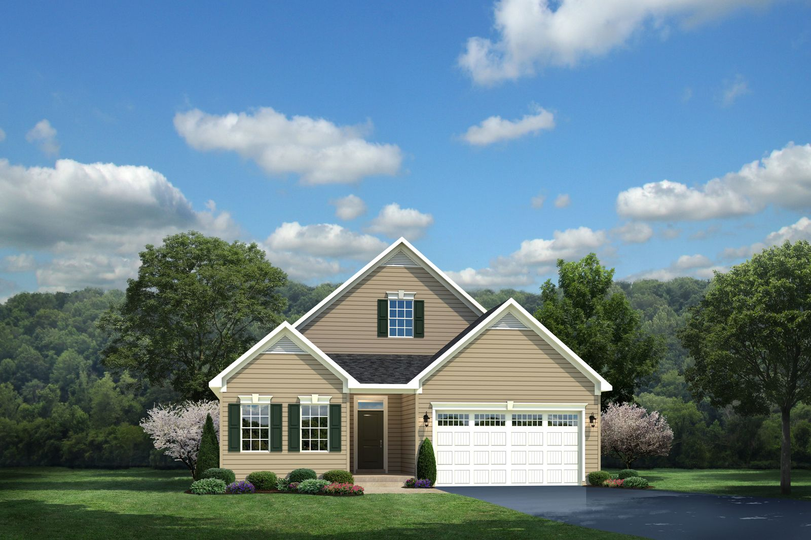 Exterior featured in the Palladio Ranch By Ryan Homes in Dover, DE