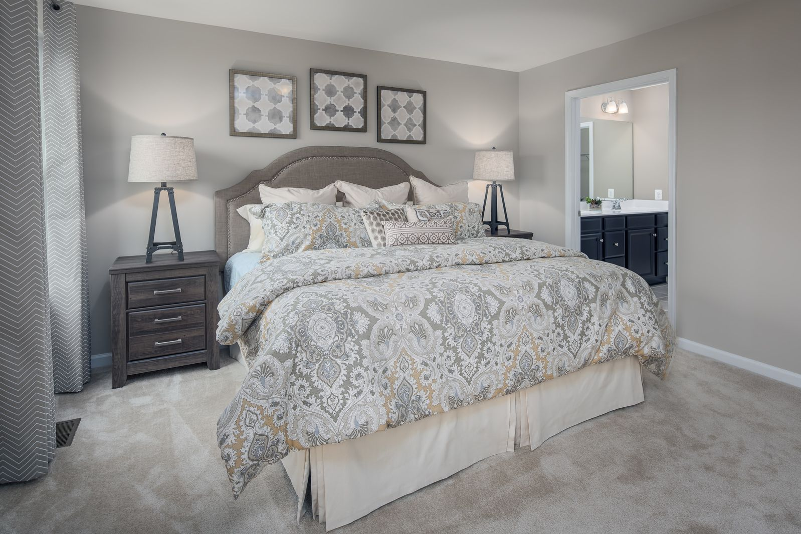 Bedroom featured in the Dominica By Ryan Homes in Canton-Massillon, OH