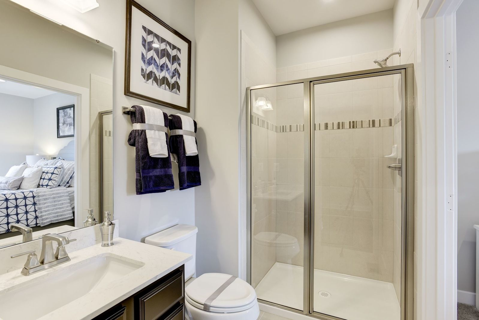 Bathroom featured in the Normandy By Ryan Homes in Washington, MD