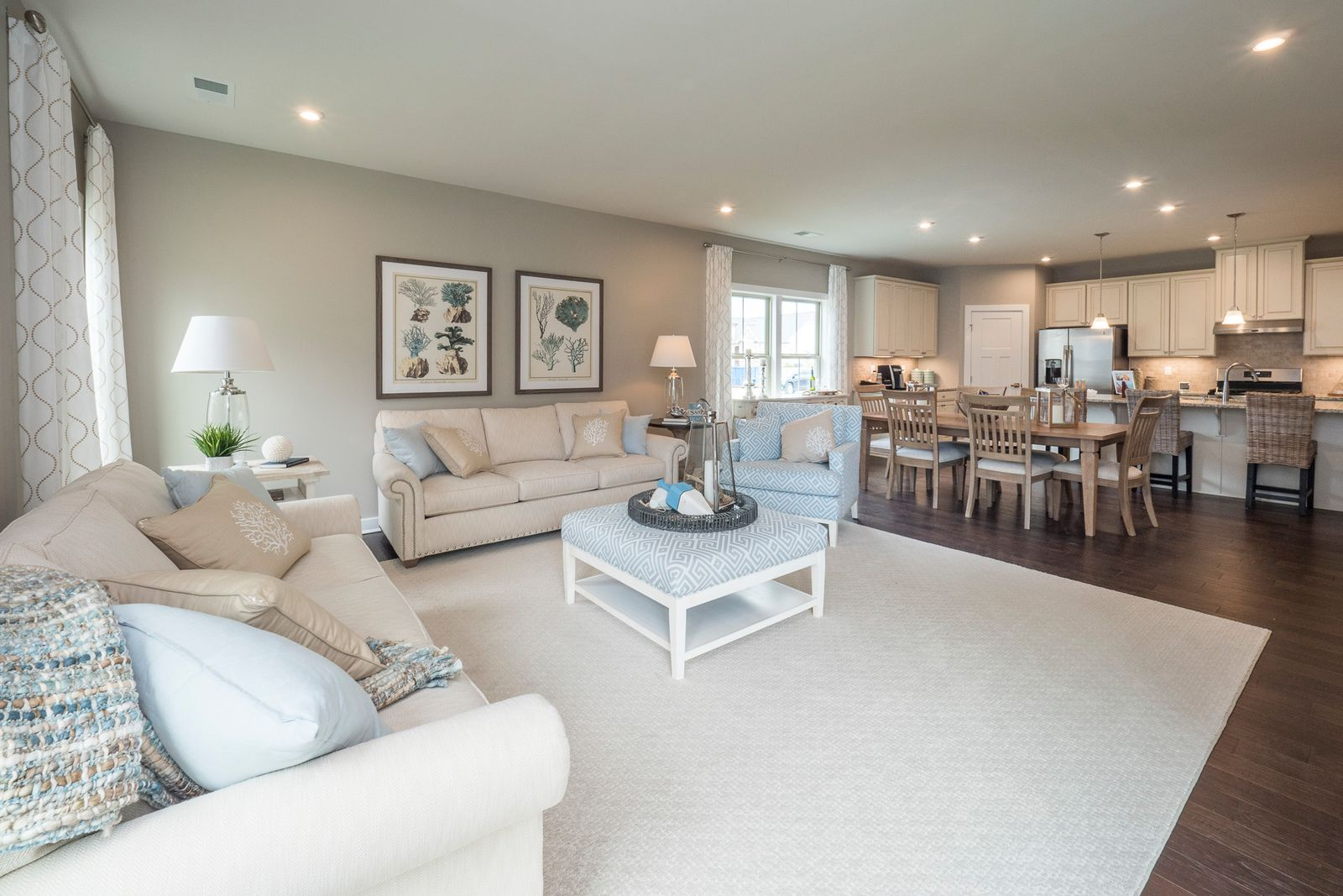 Greatroom-and-Dining-in-Palladio-at-Briar Oaks-in-Simpsonville