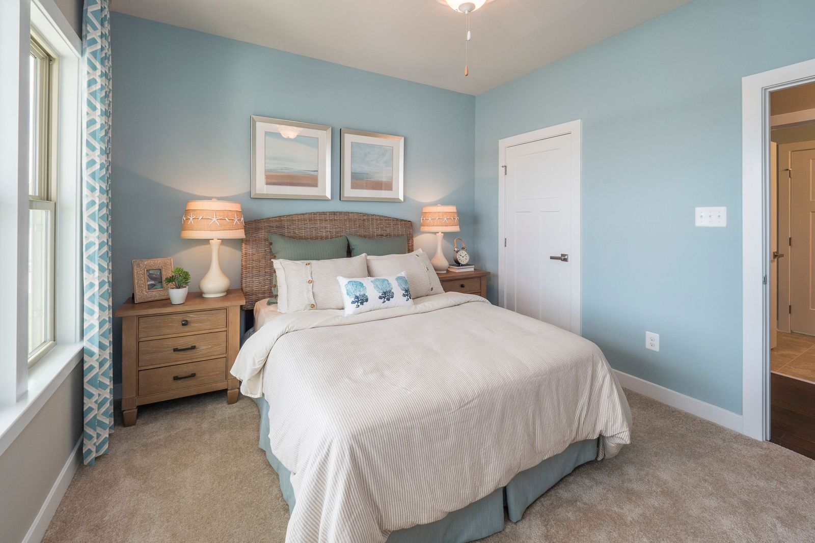 Bedroom featured in the Palladio By Ryan Homes in Greenville-Spartanburg, SC