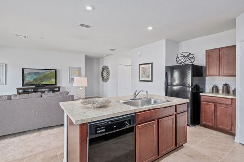 Kitchen-in-F1452-at-Lakes at Lucerne Park-in-Winter Haven
