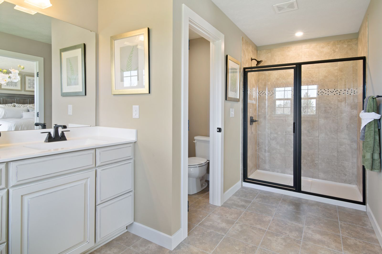 Bathroom featured in the Columbia By Ryan Homes in Washington, VA