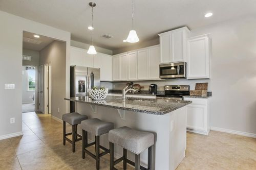 Kitchen-in-Magnolia-Woodland-at-Cypress Preserve Villas-in-Land O' Lakes
