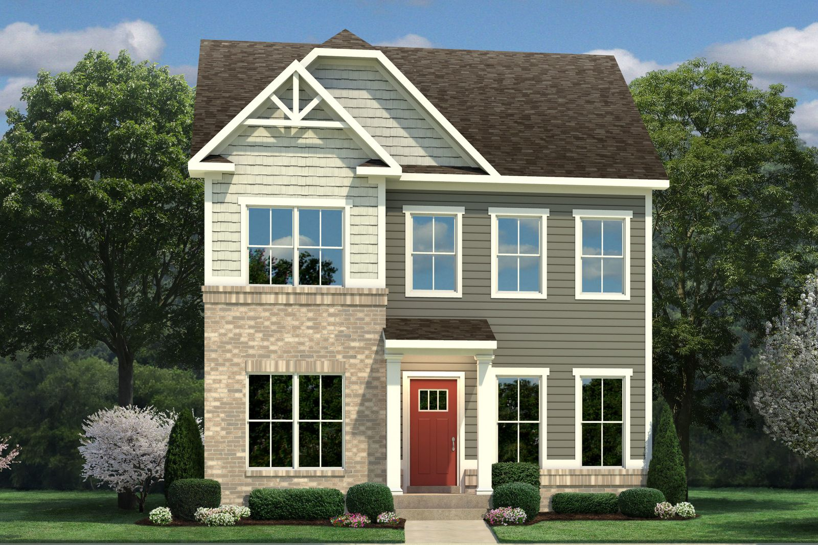 Exterior featured in the Ernest Hemingway By Ryan Homes in Norfolk-Newport News, VA