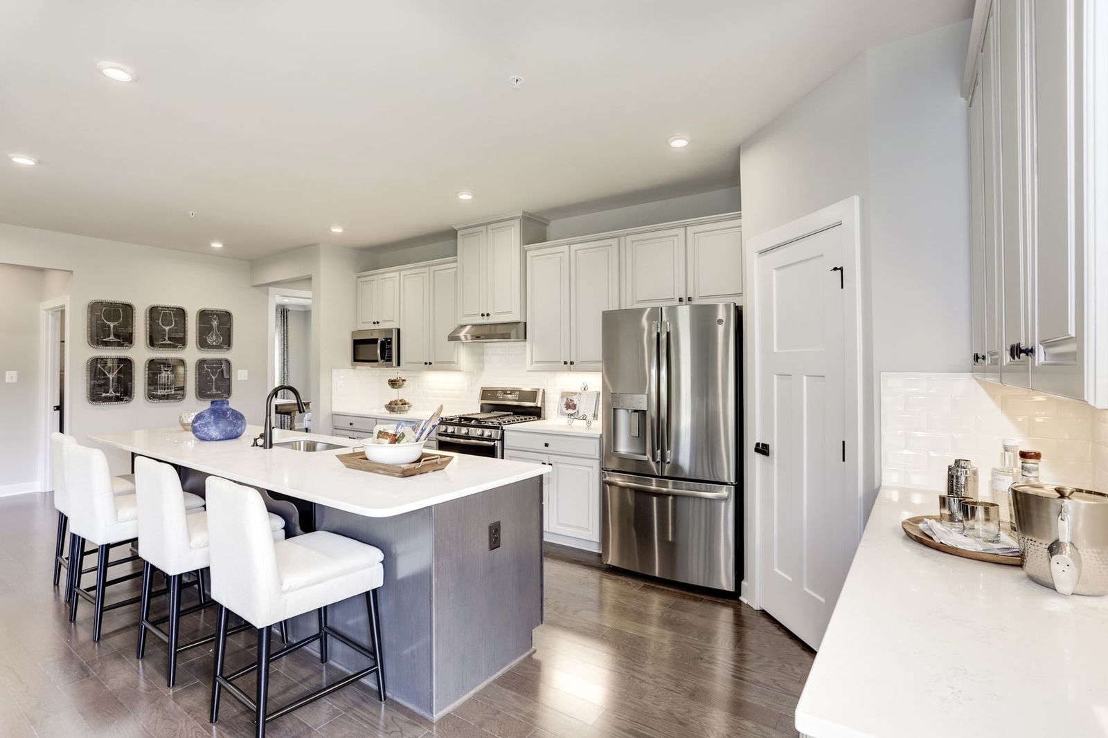 Kitchen-in-Palladio 2-Story-at-Enclave at Holcomb Woods (55+)-in-Charlotte