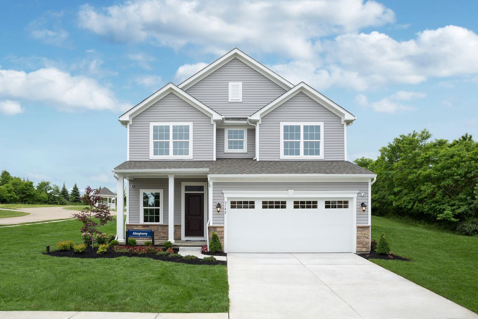 Exterior featured in the Allegheny By Ryan Homes in Dover, DE