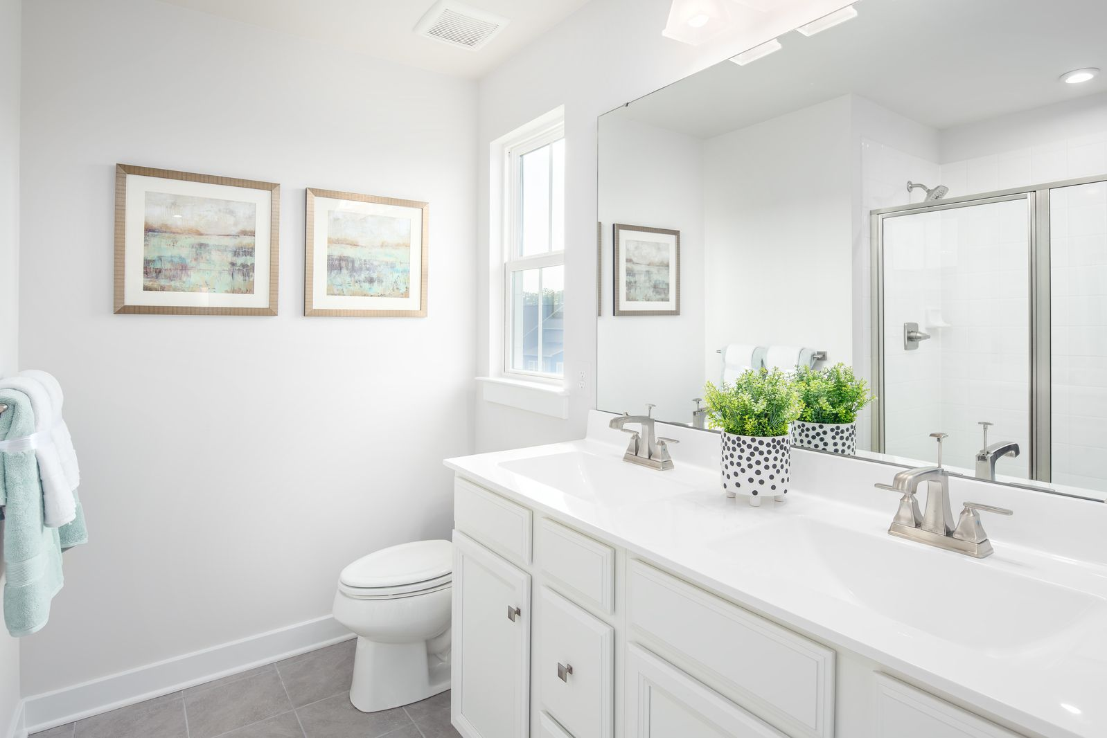 Bathroom featured in the Ballenger By Ryan Homes in Washington, MD