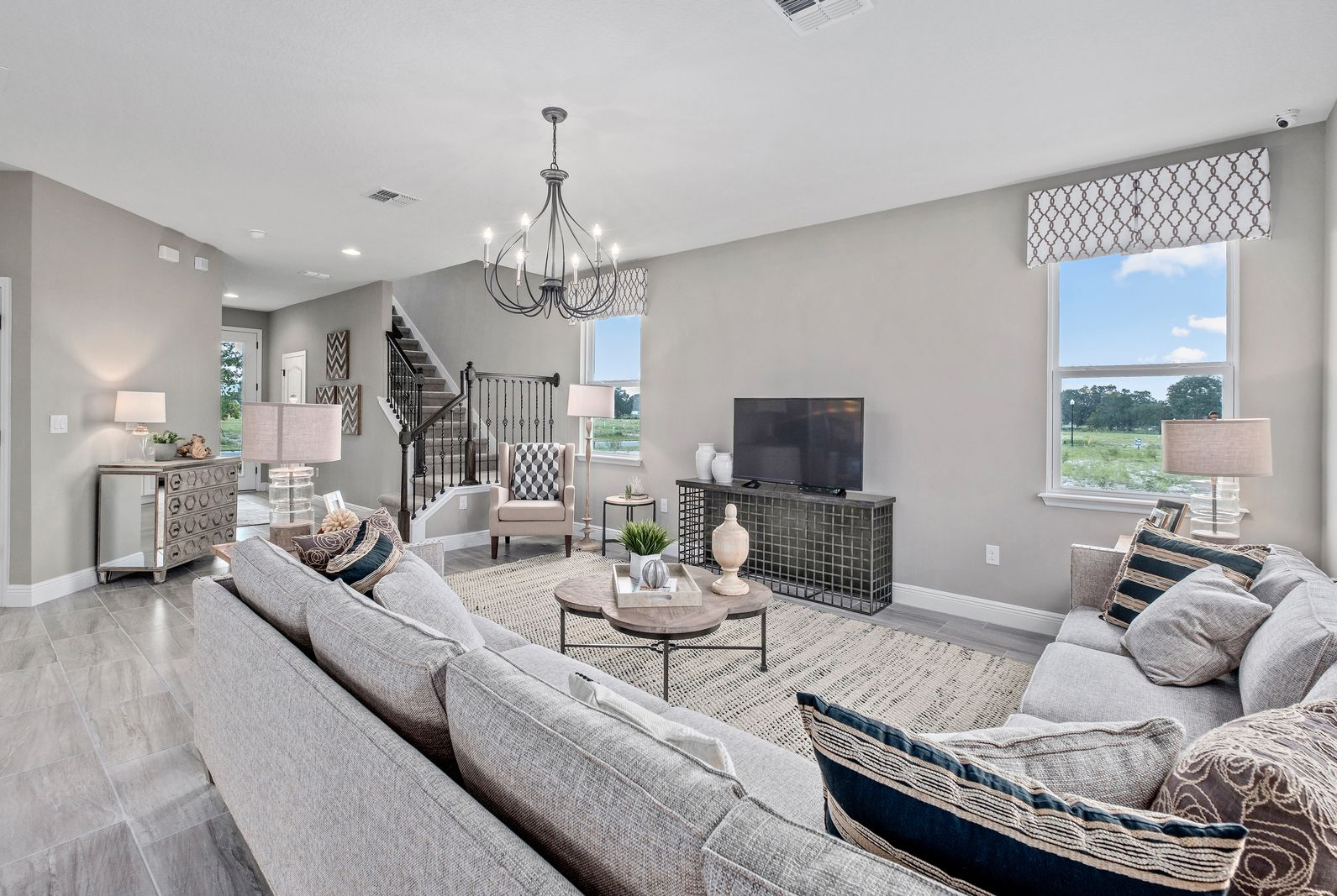 Living Area featured in the Summerland By Ryan Homes in Martin-St. Lucie-Okeechobee Counties, FL