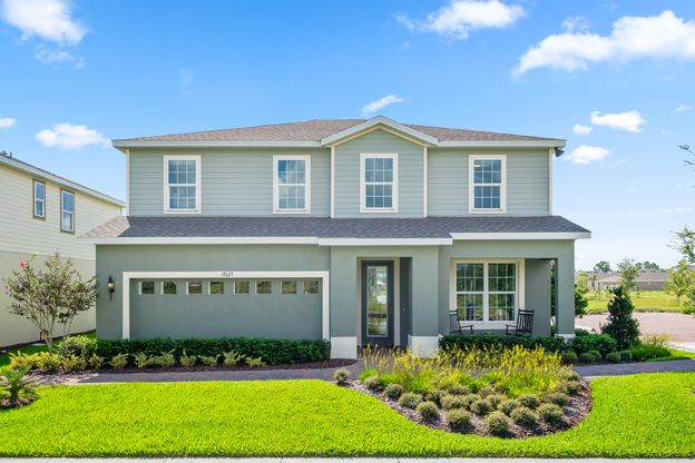 Welcome to Mitchell Ranch!:Looking for an affordable new home with a great location off of Photonic Drive, right behind Mitchell High School, and no CDD fees?Visit us today!