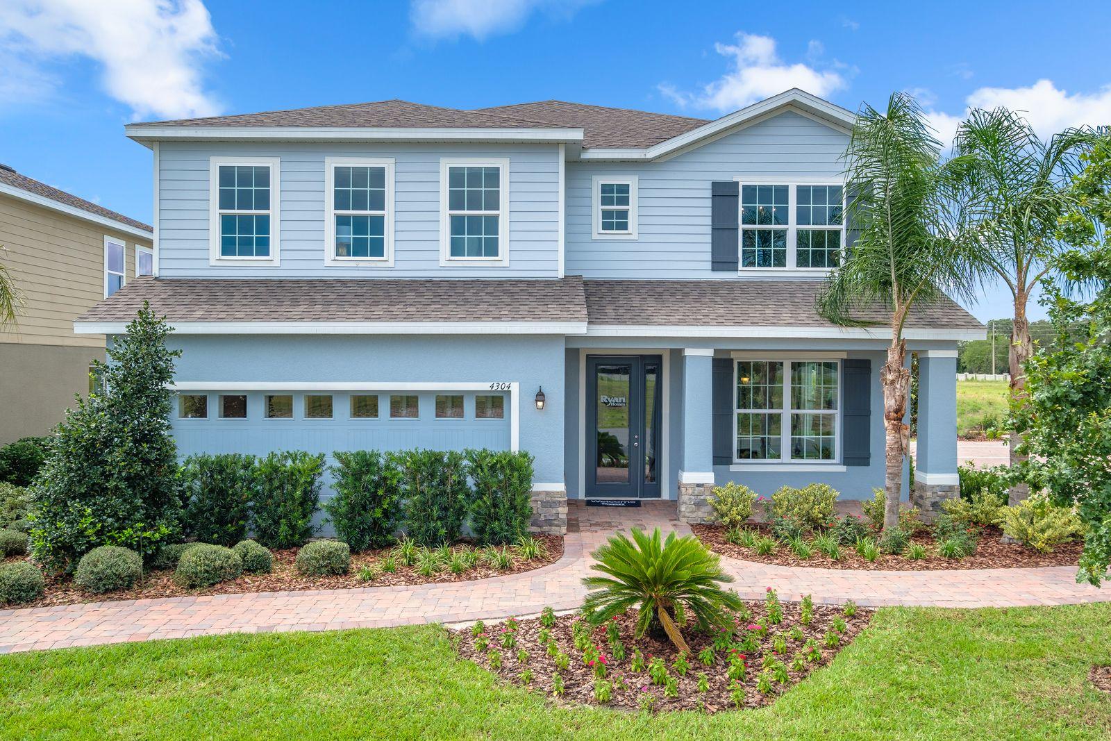 'Lucaya Lake Club - Signature' by Ryan Homes-TAM in Tampa-St. Petersburg