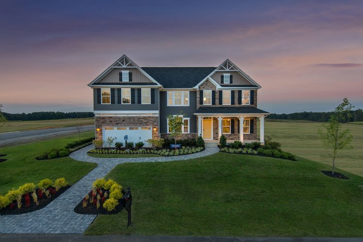 Exterior featured in the Corsica By Ryan Homes in Washington, VA