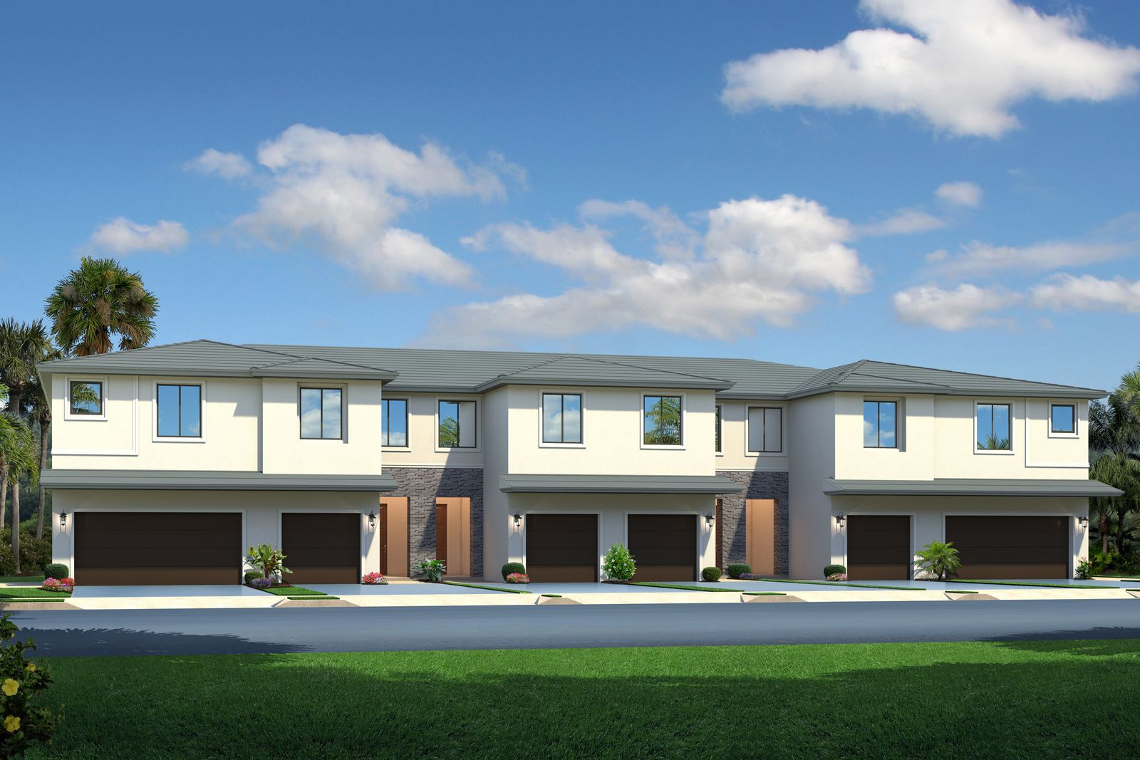 Exterior featured in the Pinecrest By Ryan Homes in Miami-Dade County, FL