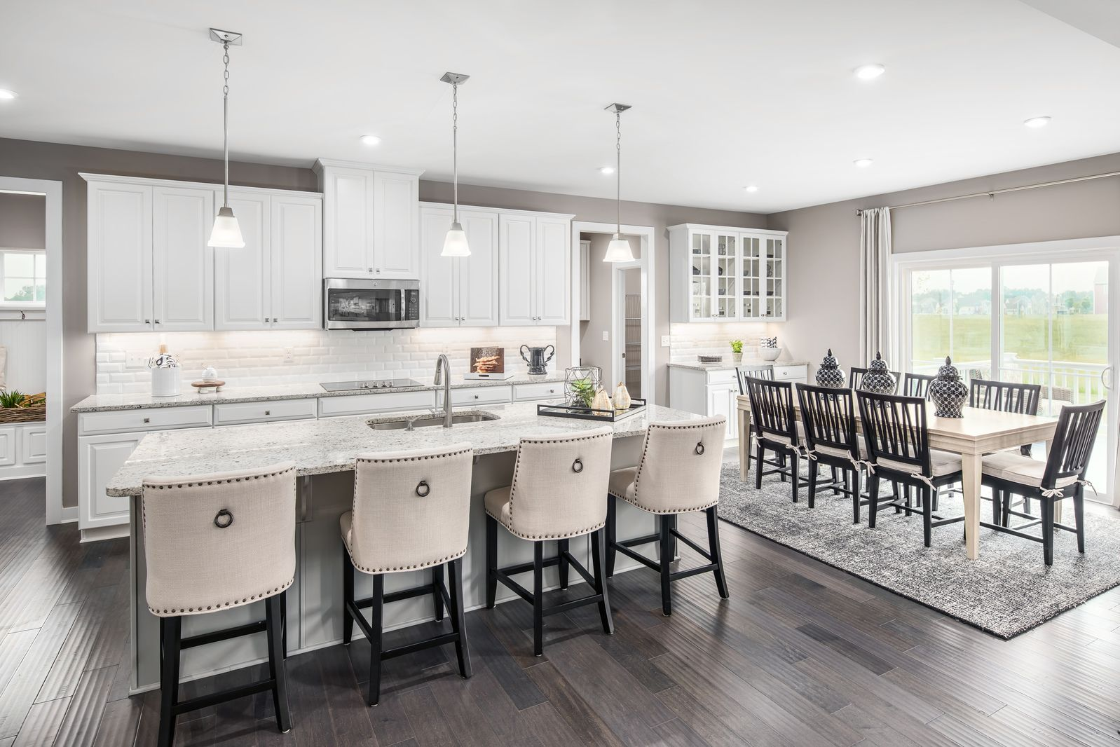 Kitchen featured in the Versailles By Ryan Homes in Washington, MD