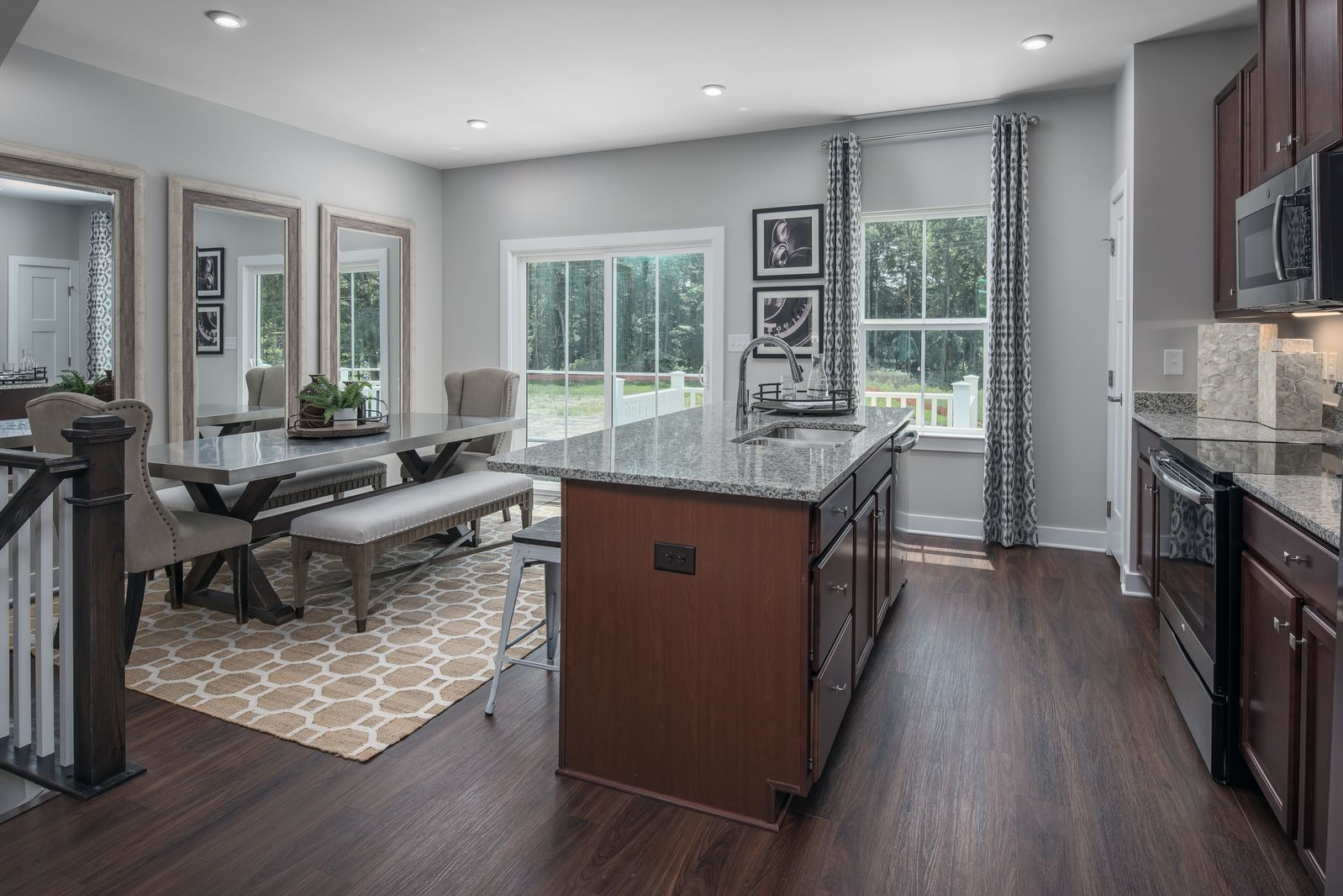 Kitchen-in-Beethoven-at-The Towns at Bryan's Cove-in-Chesapeake