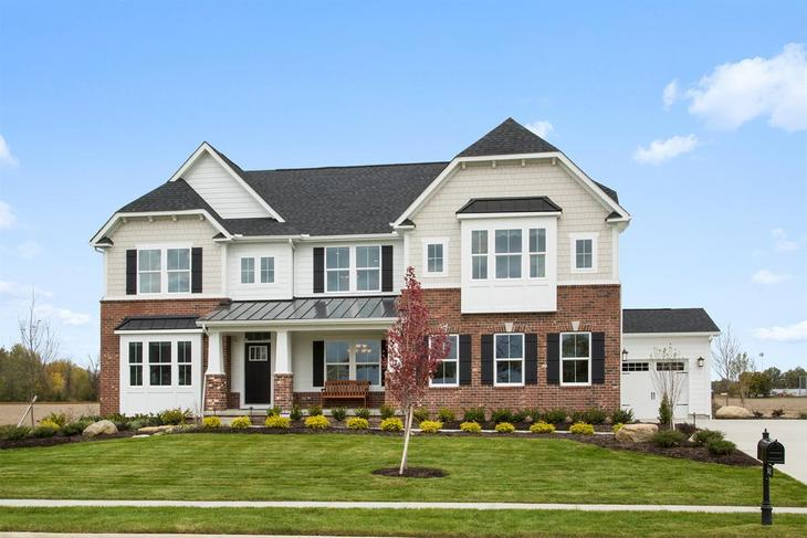 Luxury Homes with Captivating Views:Stone or brick exteriors for our spacious, tree-lined homesites.