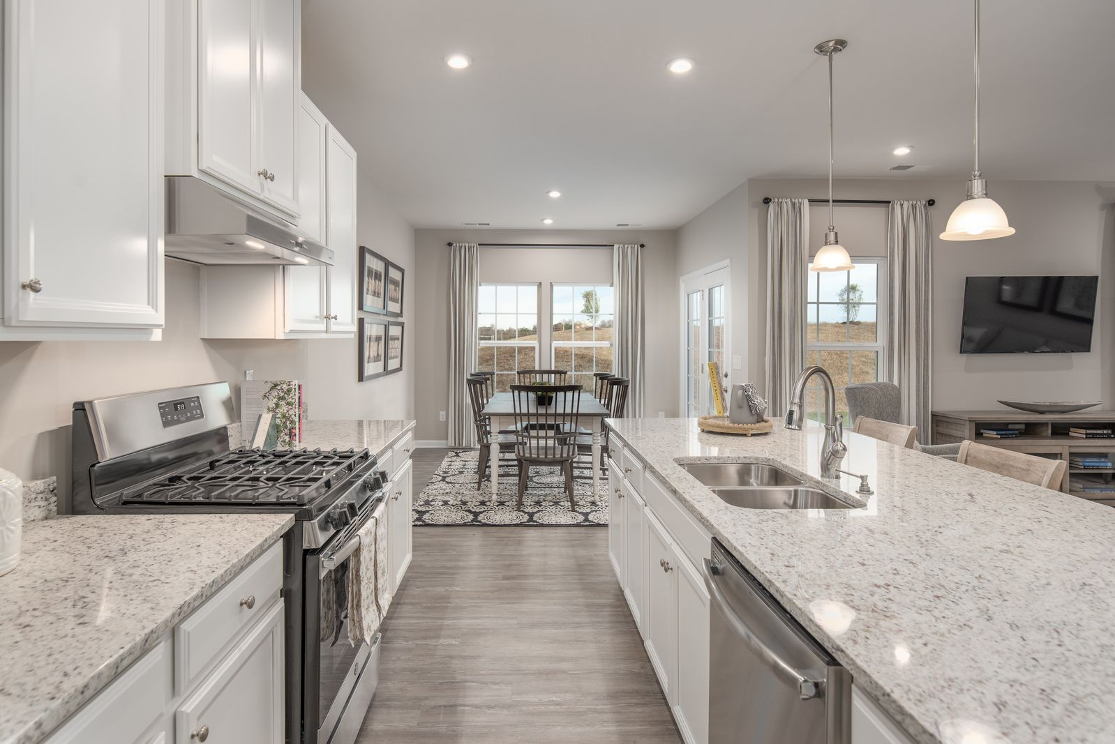 Kitchen featured in the Genoa By Ryan Homes in Greenville-Spartanburg, SC
