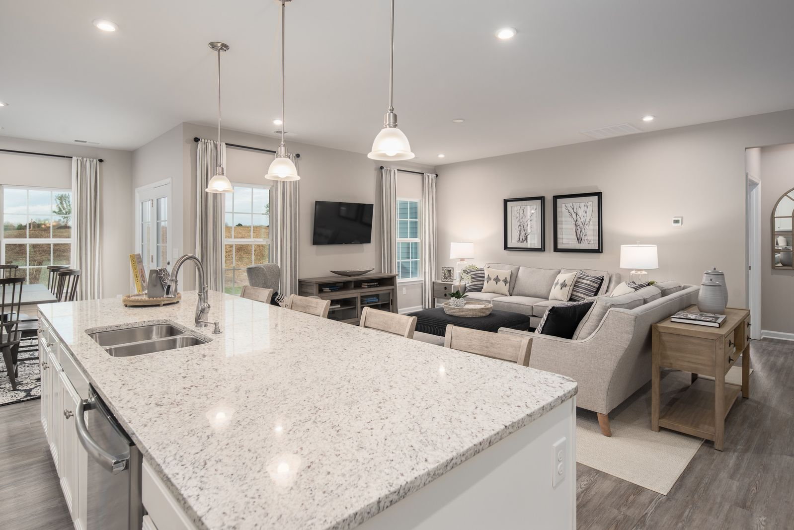 Living Area featured in the Genoa By Ryan Homes in Chicago, IL