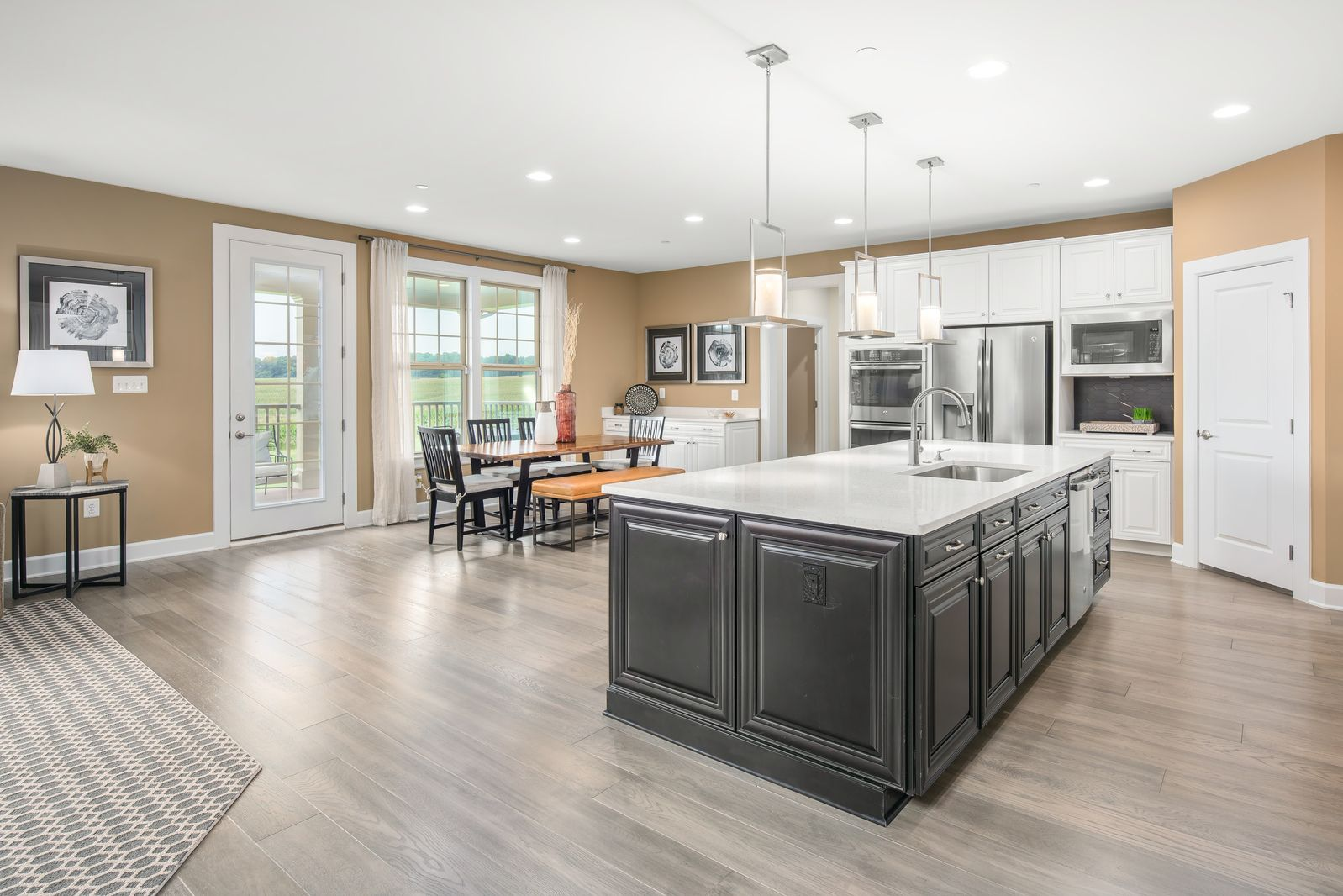 Kitchen featured in the Marymount By NVHomes in Washington, VA