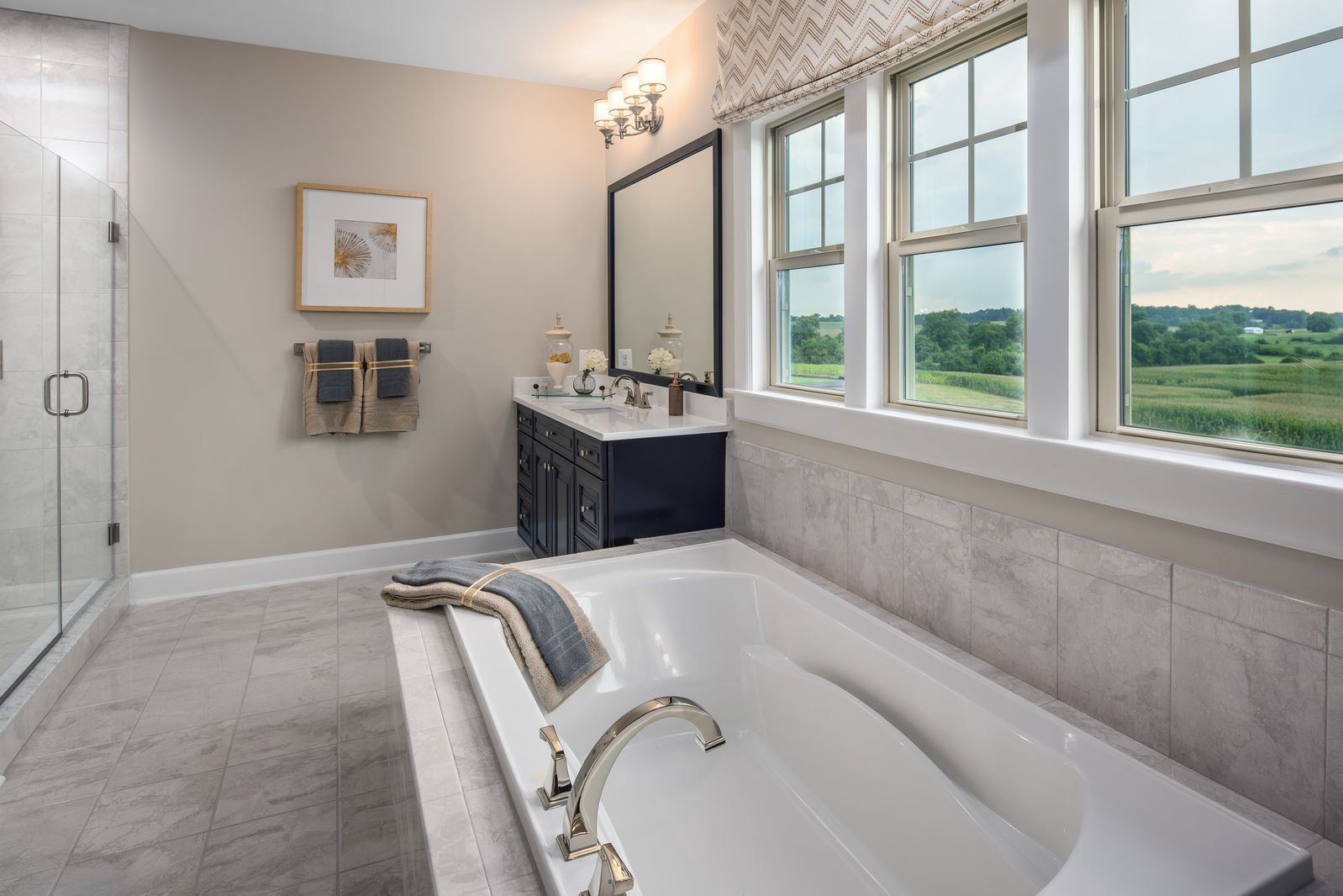 Bathroom featured in the Marymount By NVHomes in Washington, VA
