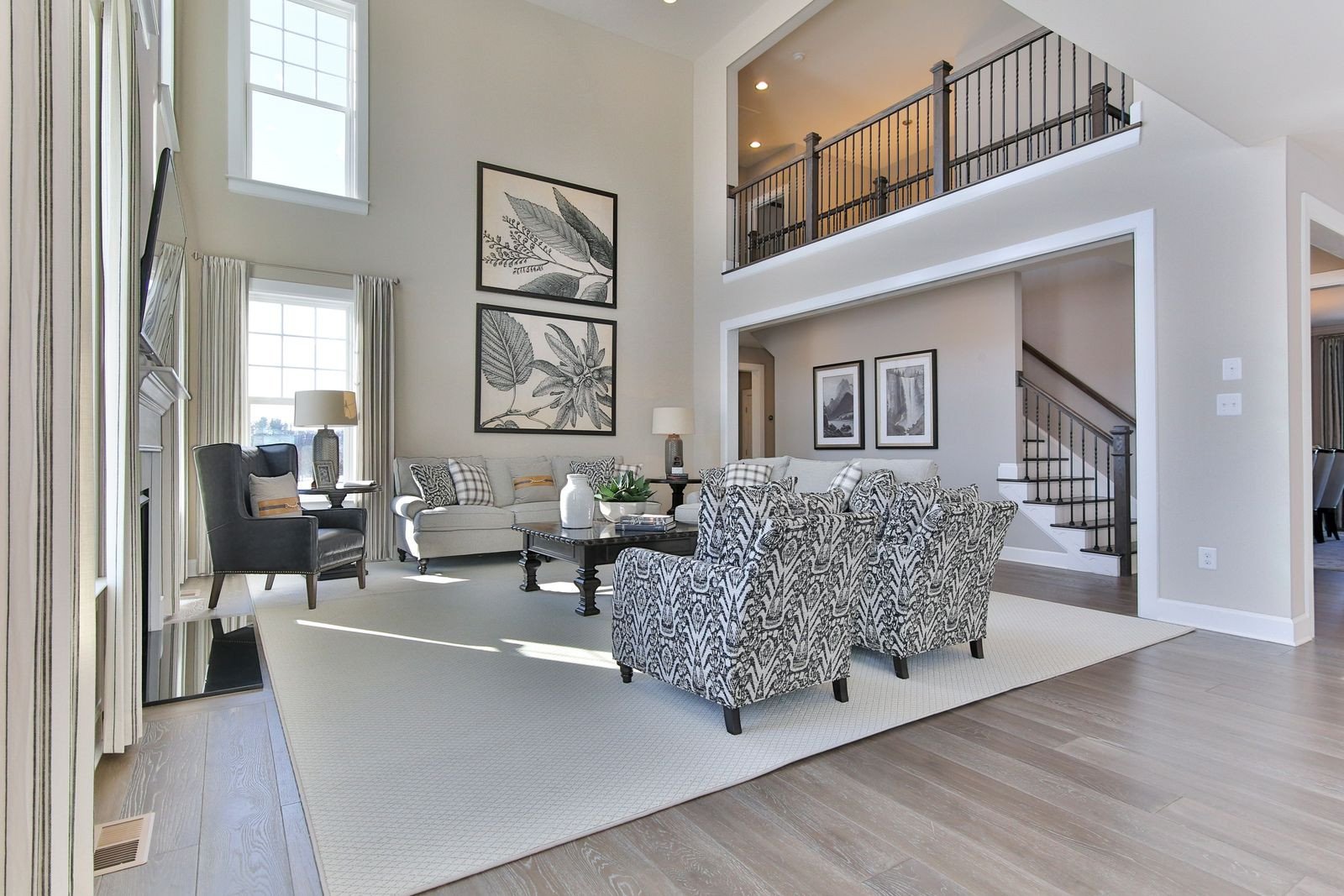 Living Area featured in the Radford By NVHomes in Washington, VA