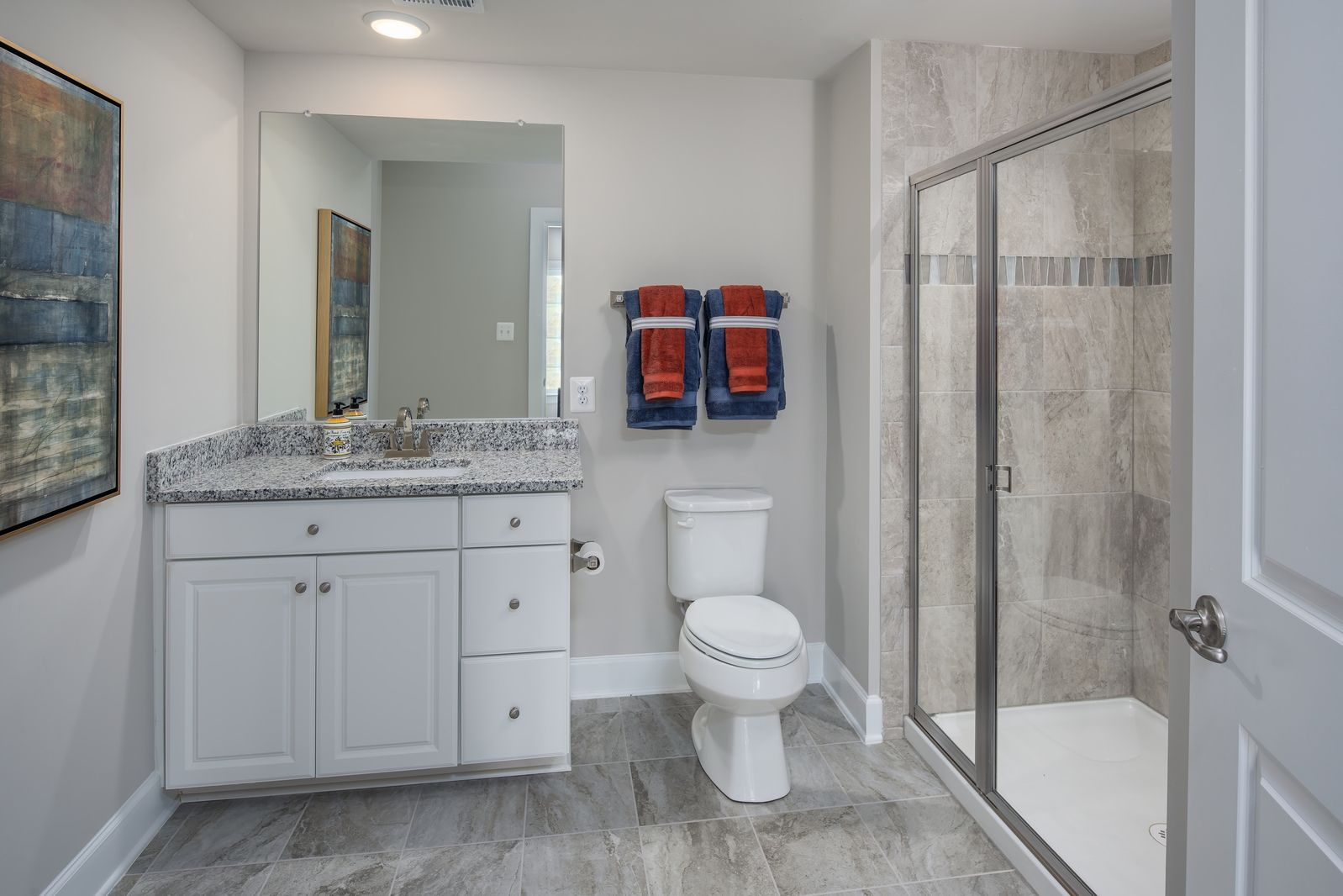 Bathroom featured in the Radford By NVHomes in Washington, VA
